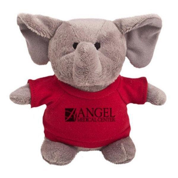 "Elephant Plush Bean Bag Buddy, 7"""