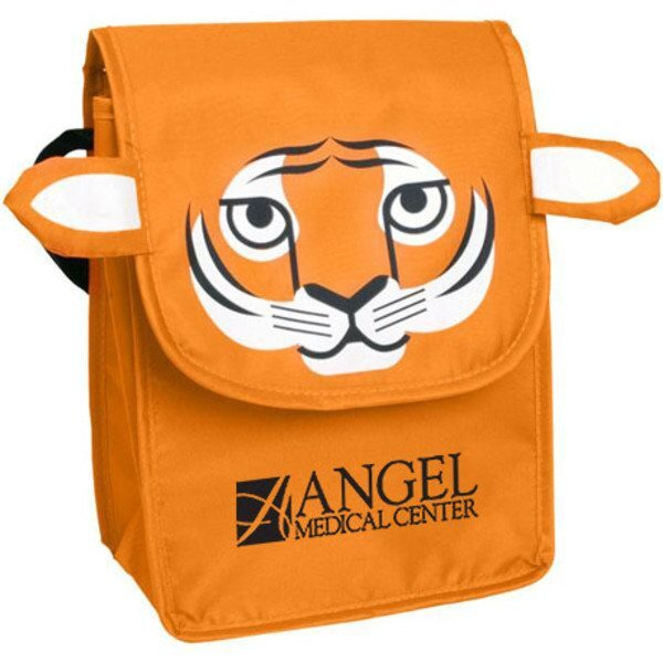 Paws N Claws Polyester Lunch Bag - Tiger