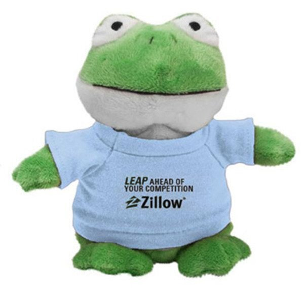 Frog Plush Bean Bag Buddy, 7""