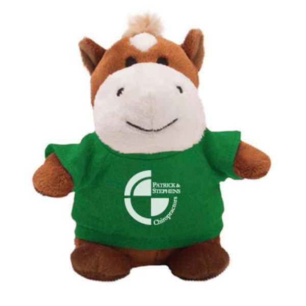 "Horse Plush Bean Bag Buddy, 7"""