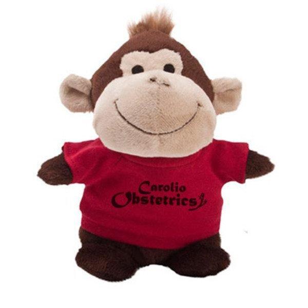 """Monkey Plush Bean Bag Buddy, 7"""""""