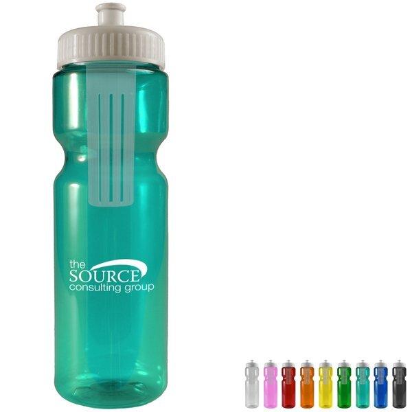 Melangé Fruit Infuser Bottle, 28oz. - Push Pull Lid