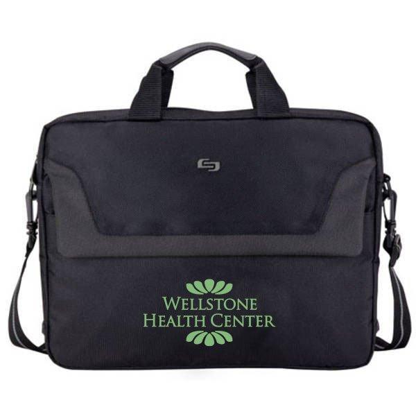 Solo® Slim Laptop Briefcase