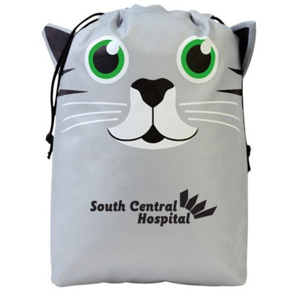 Paws N Claws Polyester Gift Bag - Kitten