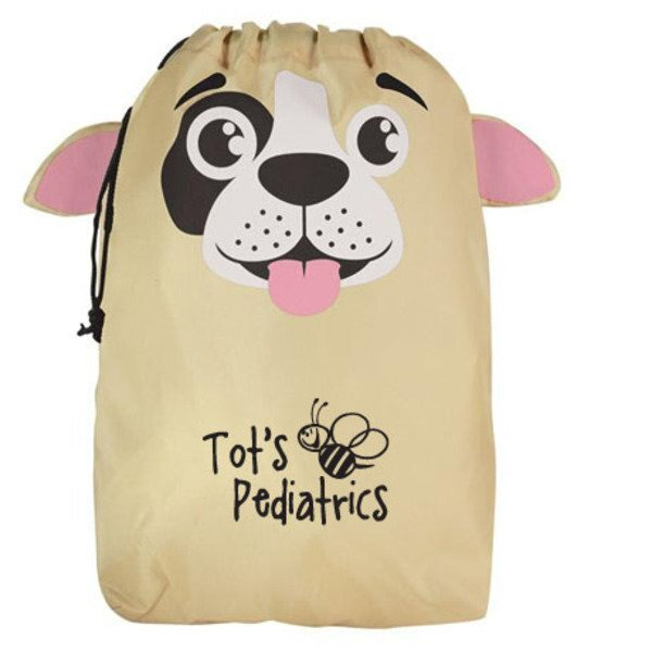 Paws N Claws Polyester Gift Bag - Puppy