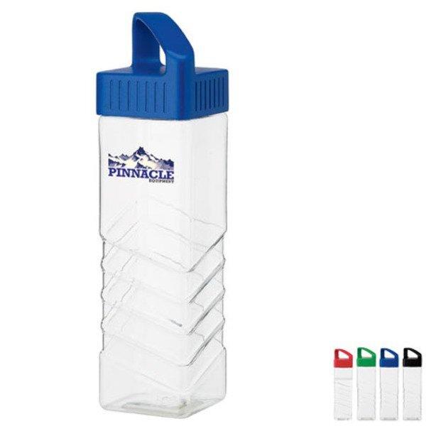 Square Shaped Tritan™ Water Bottle, 25oz., BPA Free