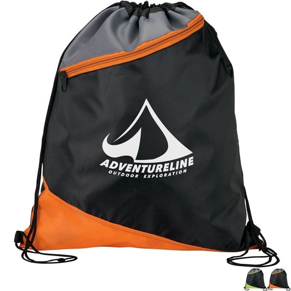 Angle Zip Sport 210D Polyester Cinchpack