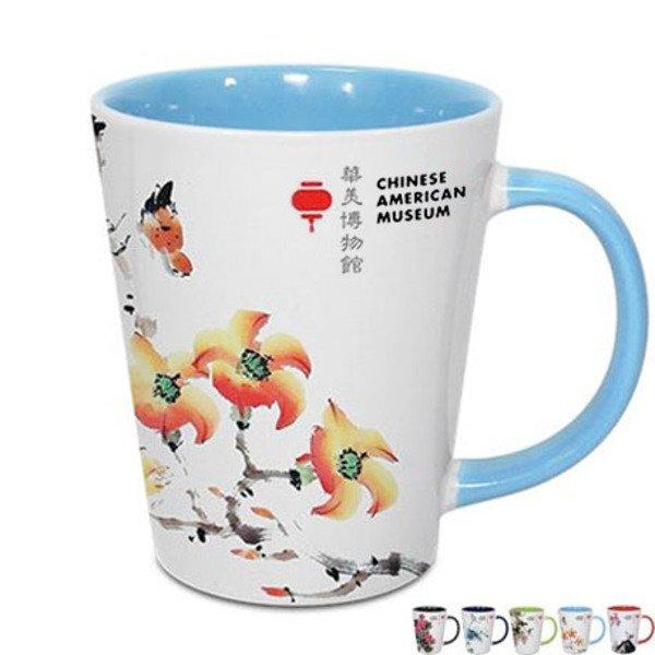 Two-Tone Latte Mug, 12oz. w/ Full Color Imprint