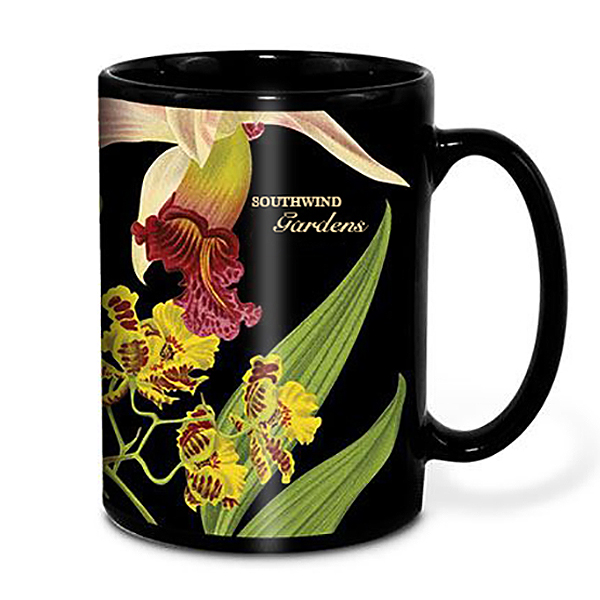 Maxx Black Ceramic Mug, 18oz.w/ Full Color Imprint