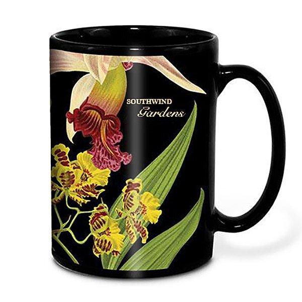 Maxx Black Ceramic Mug, 18oz.w/ Full Color Imprint