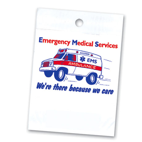 Litterbag, EMS We're There Because We Care Stock - Closeout!
