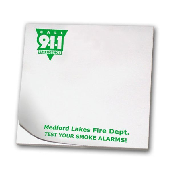 Call 9-1-1 Emergency, 25 Sheet Sticky Pad