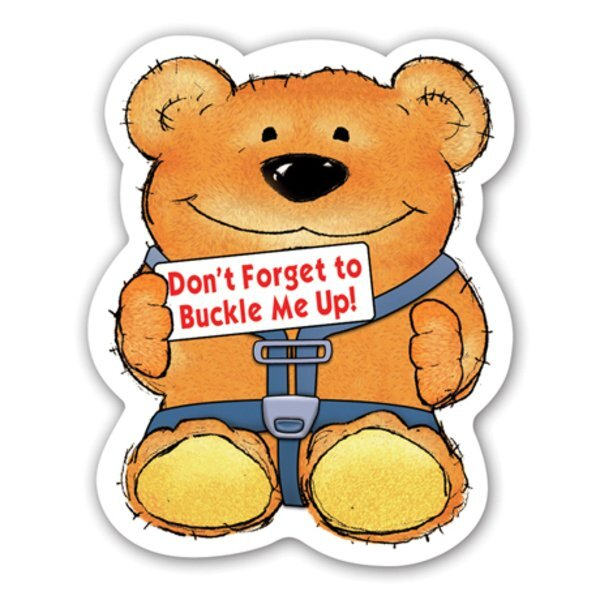 Buckle Up Bear Magnet