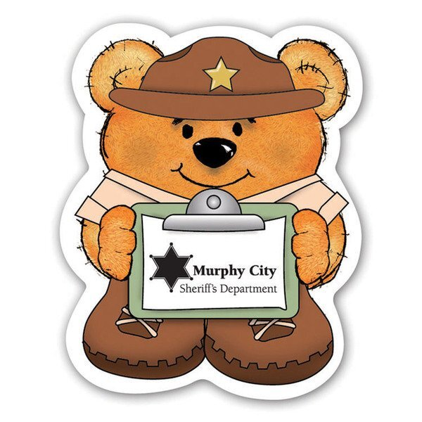 Sheriff Bear Magnet
