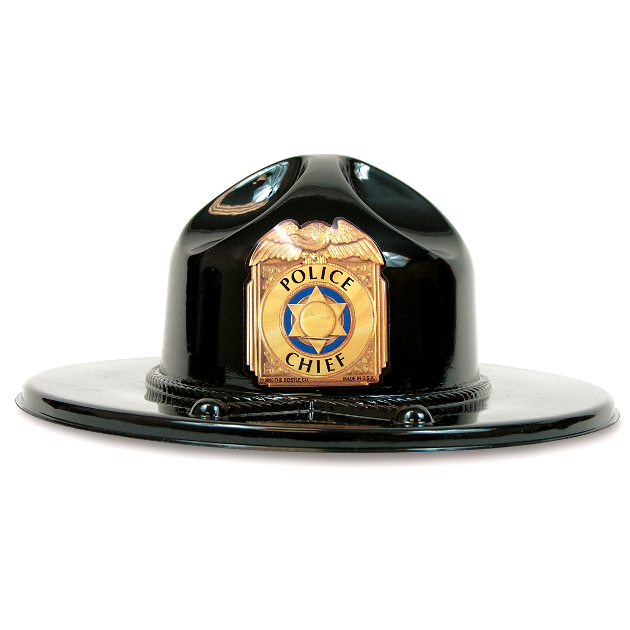 Trooper Play Hat, Black, Stock