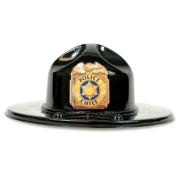 Trooper Play Hat, Black, Stock