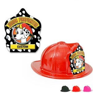 61d5a20cedd Custom Junior Firefighter Plastic Hats by Fire   Public Safety ...