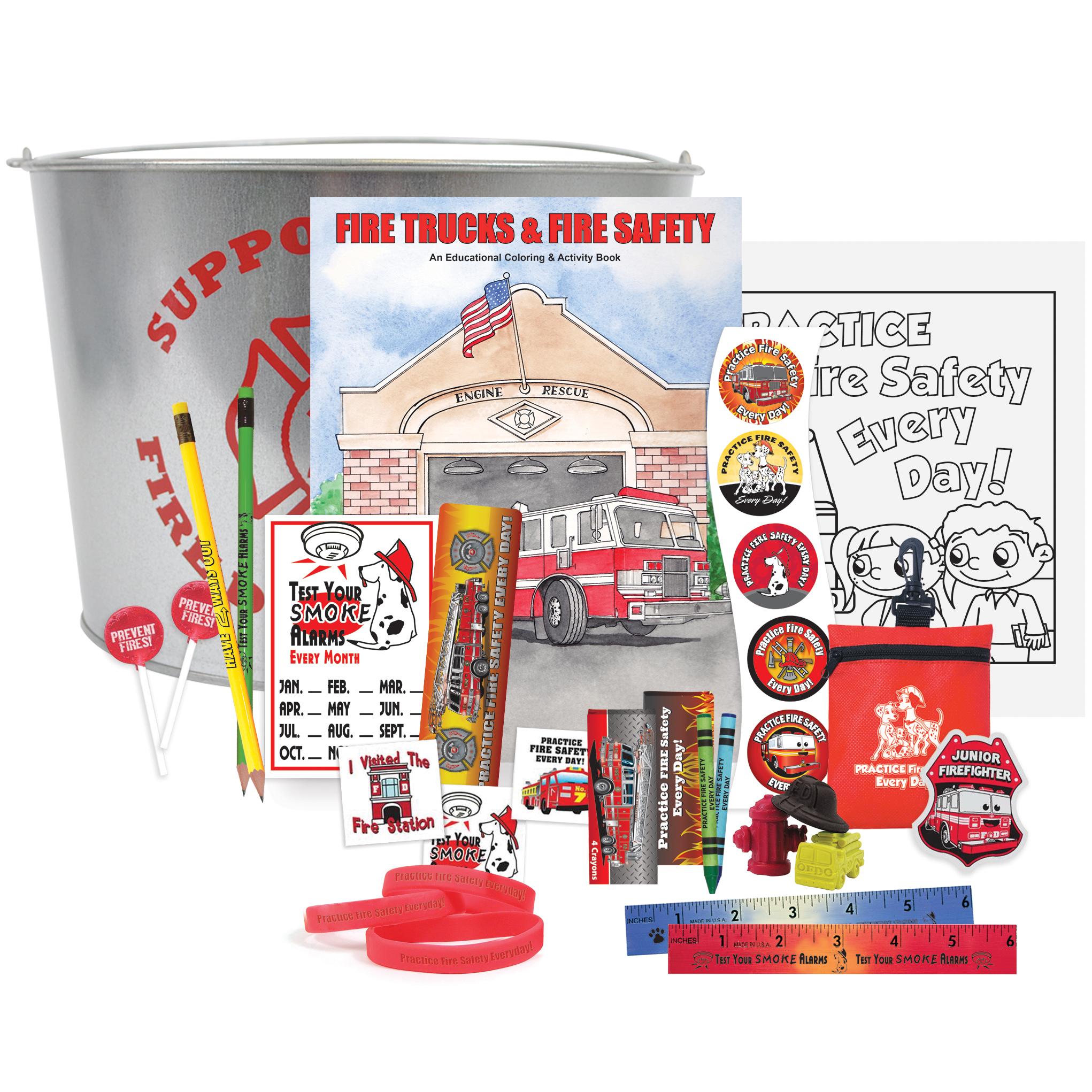 Fire Prevention Bucket Kit, Stock