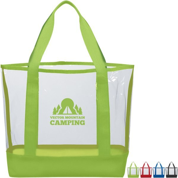 Casual Clear PVC Tote
