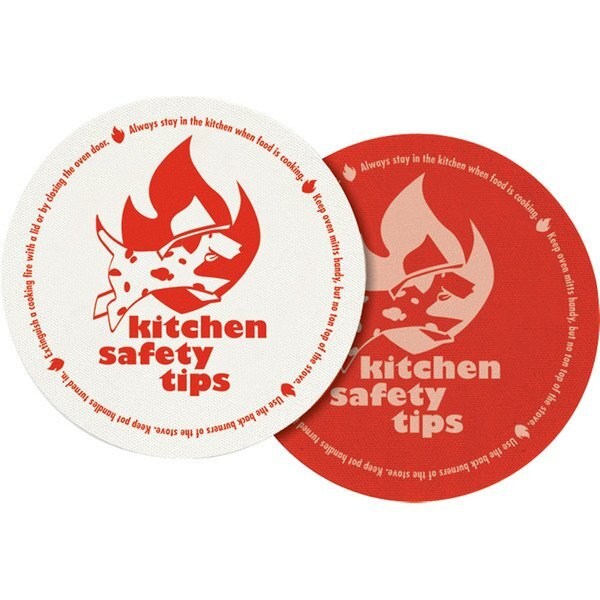 Kitchen Safety Tips Round Jar Gripper, Stock