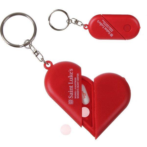 Heart Pillbox Key Light