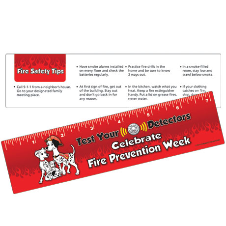 Laminated Safety Ruler, Test Your Detectors, Stock
