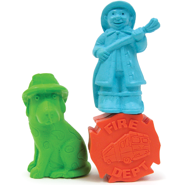 Exclusive Fire Safety Pencil Toppers, Stock