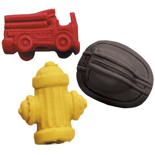 Original Fire Safety Pencil Toppers, Stock