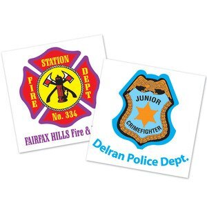 Fire Safety Stickers | Fire Safety Temporary Tattoos