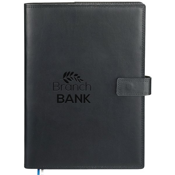 """Uptown Refillable Leather JournalBook, 7"""" x 9-3/4"""""""