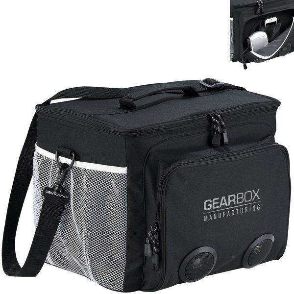 Game Day 30-Can Polycanvas Speaker Cooler