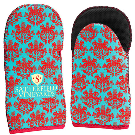 Neoprene Oven Mitt w/ Full Color Imprint