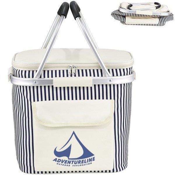 Cape May Polycanvas Picnic Basket Cooler