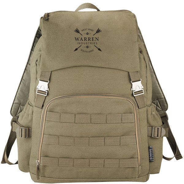 Field & Co.™ Cotton Canvas Scout Compu-Backpack