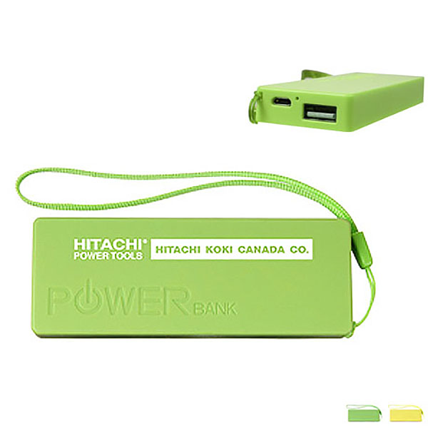 Wristlet Power Bank, 2600 mAh