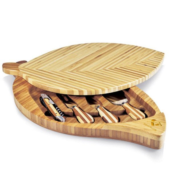 Leaf Cheese Board Set