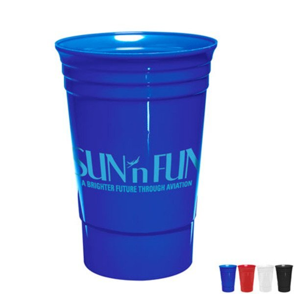 Single-Wall Everlasting Party Cup, 20oz.
