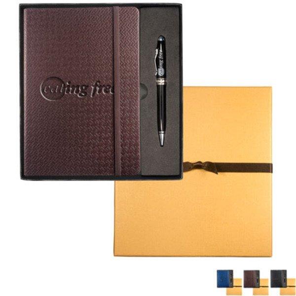 Textured Tuscany™ Journal w/Executive Stylus Pen Set