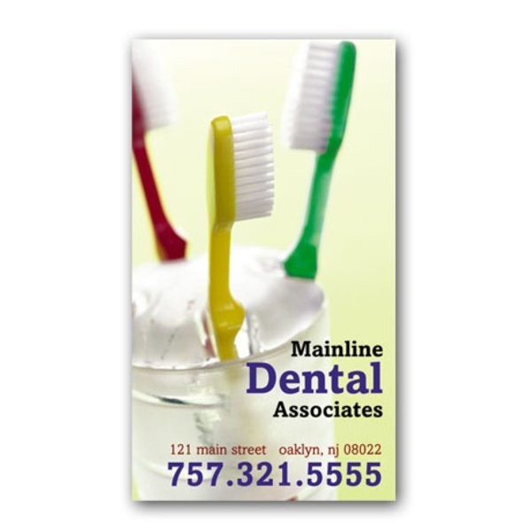 Toothbrushes Design Full Color Magnet