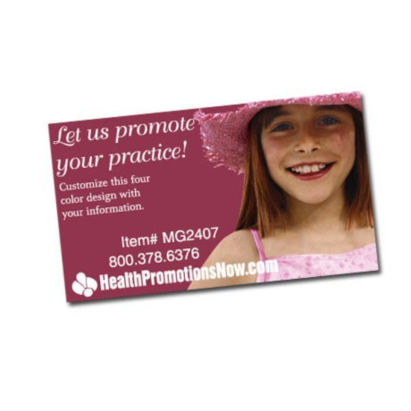We Keep Them Smiling Design Full Color Magnet