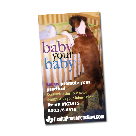 Baby Your Baby Design Full Color Magnet