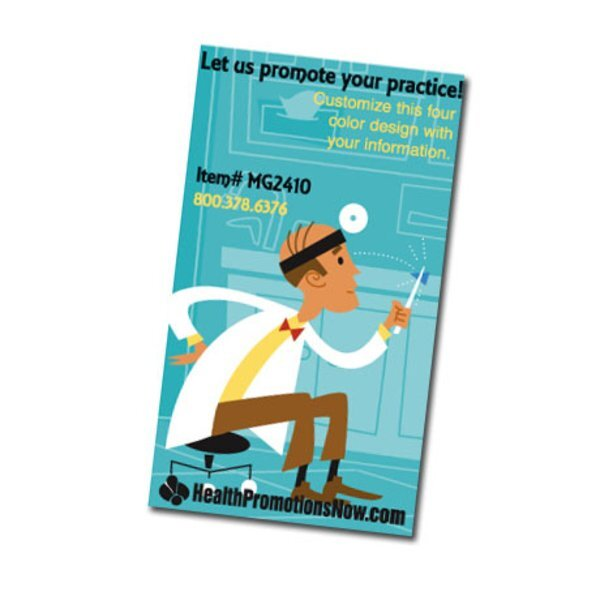 Cartoon Doctor Design Full Color Magnet