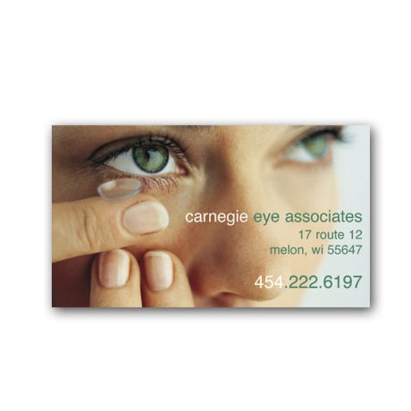 Contact Lens Design Full Color Magnet