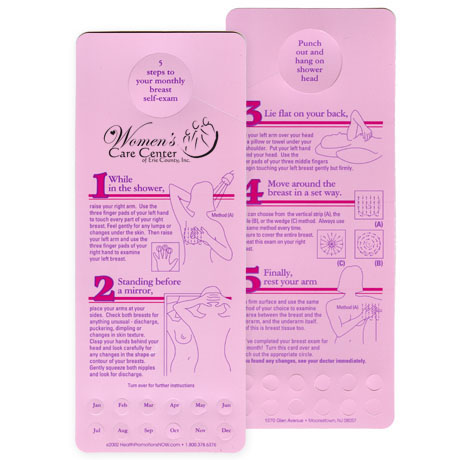 Tri-Method BSE Pink Shower Card - Free Shipping!