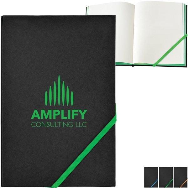 "Neon Edge Notebook, 8-3/8"" x 5-5/8"""