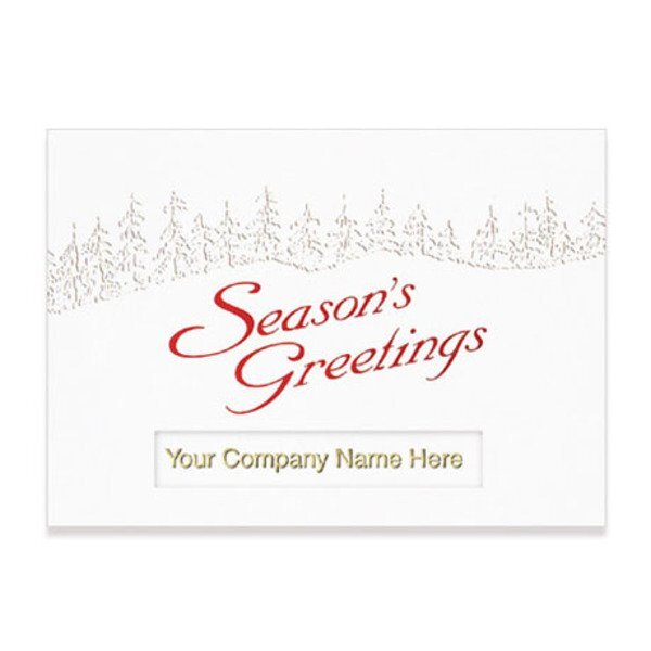 Season's Greetings Holiday Greeting Card
