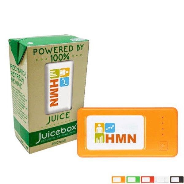 Juicebox External Battery Pack Power Bank, 4000mAh
