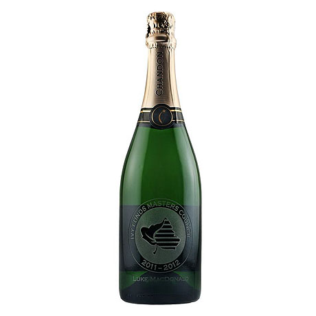 CA Champagne Sparkling White Wine, Etched, 750ml