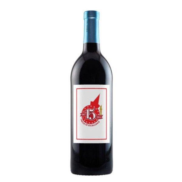 Merlot Red Wine, Full Color, 750ml