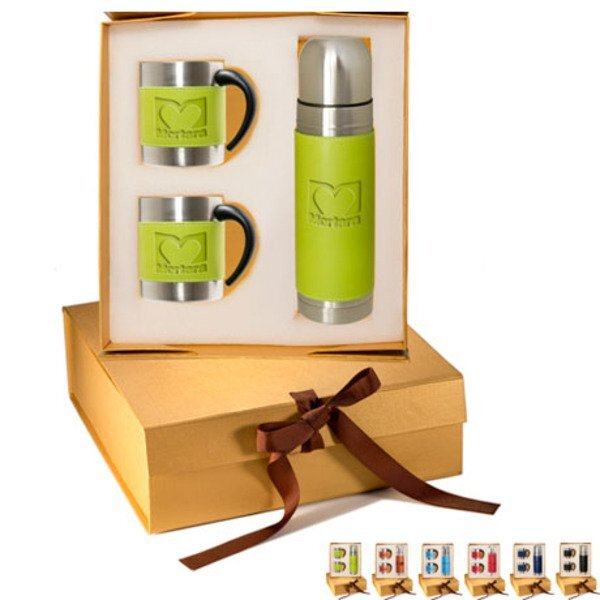 Tuscany™ Coffee Cup & Thermos Set